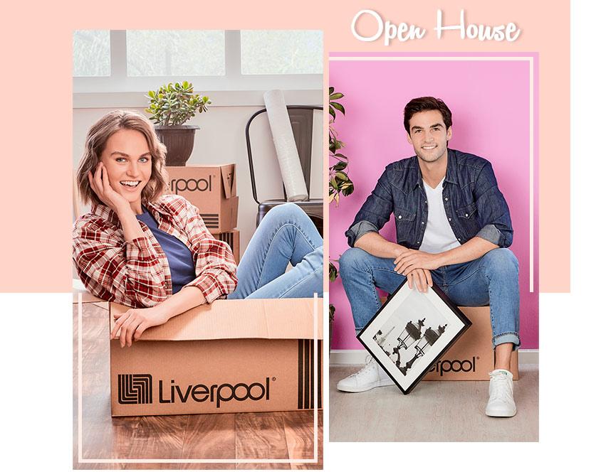 Pareja festeja su nuevo departamento, Open House, Liverpool, Mesa de Regalos